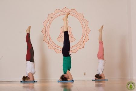 Yoga Charlottenburg Berlin - Salamba Sirsasana