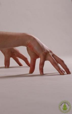 Handaufstellung