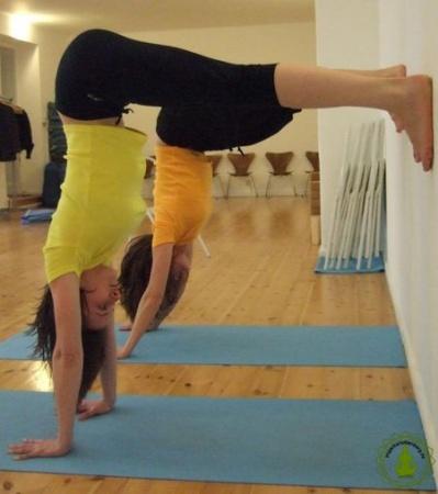 Yoga Charlottenburg Berlin - Adha Adho Mukha Vrkshasana